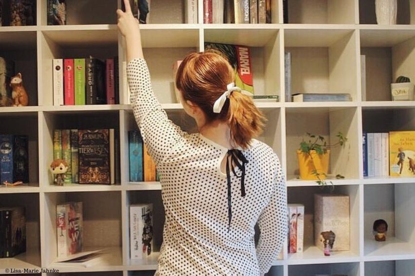 Lisa und ihre Bücher
