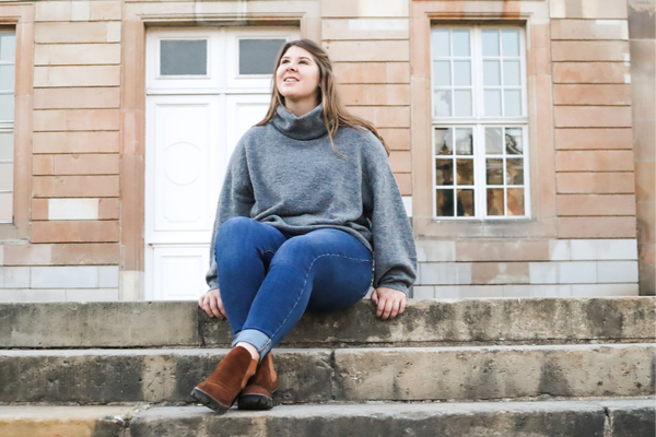 Portrait Lara Eckhardt Gründerin Bloggerstammtisch