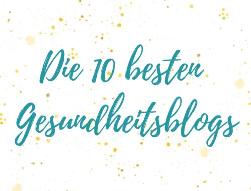 top 10 gesundheitsblogs